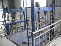 导轨式升降货梯钢丝绳维护方法和注意事项